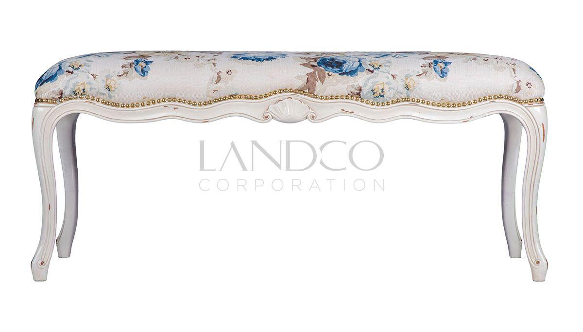 Louis XV LandFurniture (Xanh lam)